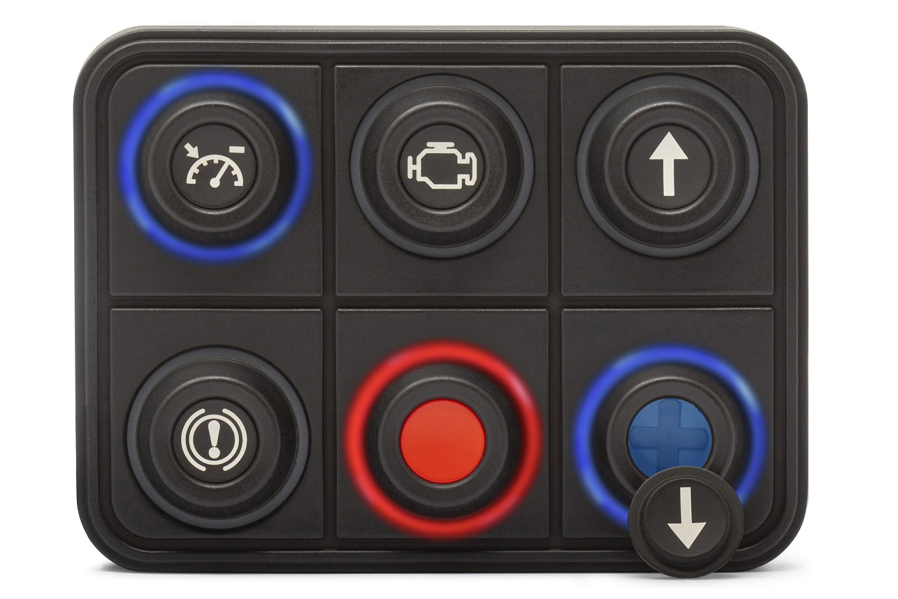 6 button CANBUS keypad